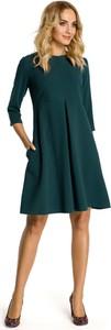 Sukienka MOE z wełny