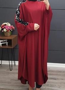 Sukienka Arilook z długim rękawem w stylu casual oversize