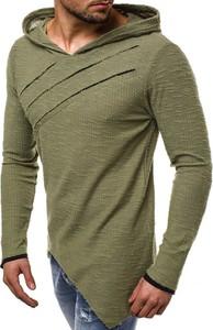 Bluza J.STYLE z bawełny w młodzieżowym stylu
