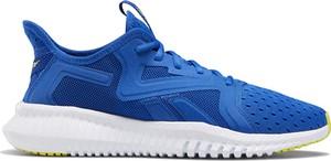 Niebieskie buty sportowe Reebok sznurowane