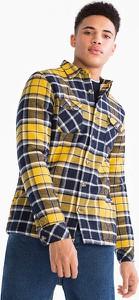 Koszula CLOCKHOUSE z długim rękawem z bawełny z klasycznym kołnierzykiem