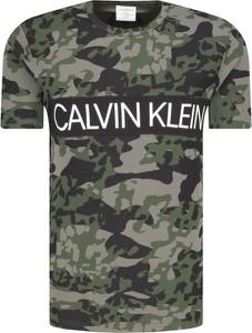 T-shirt Calvin Klein Underwear z krótkim rękawem z nadrukiem
