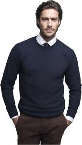 Niebieski sweter Borgio w stylu casual