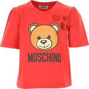 Bluzka dziecięca Moschino z bawełny
