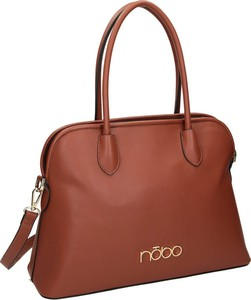 Brązowa torebka NOBO na ramię matowa