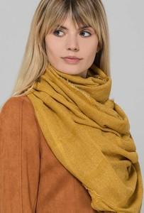 Żółty szalik Monnari