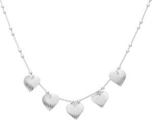 Irbis.style srebrny naszyjnik serca