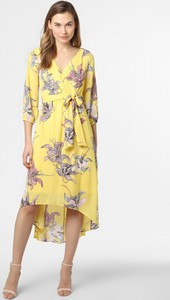 Żółta sukienka S.Oliver Black Label midi