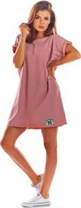 Sukienka Infinite You mini z bawełny oversize