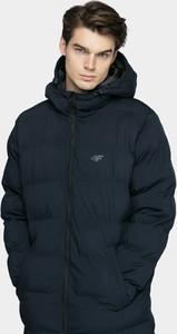 Płaszcz męski 4F z wełny w stylu casual