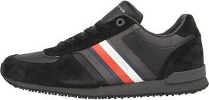 Tommy Hilfiger Iconic Mix Runner Black - Sneakersy męskie