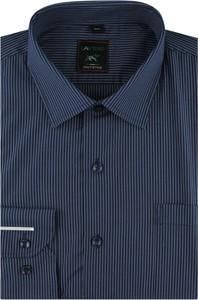 Koszula Laviino z długim rękawem z tkaniny