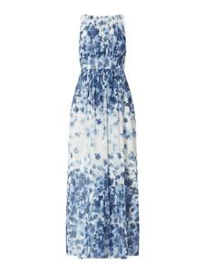 Sukienka Swing z szyfonu maxi bez rękawów