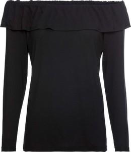 Czarna bluzka bonprix BODYFLIRT hiszpanka w stylu casual