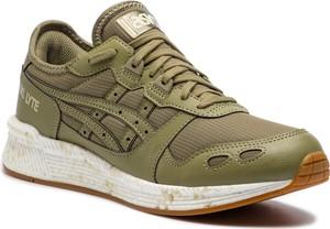 Buty sportowe ASICS ze skóry ekologicznej sznurowane