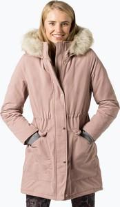 a792bb668aec5 Różowy płaszcz Tommy Hilfiger w stylu casual