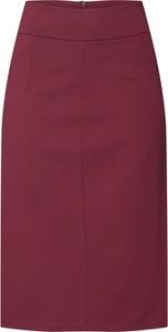Czerwona spódnica Ivyrevel midi z bawełny