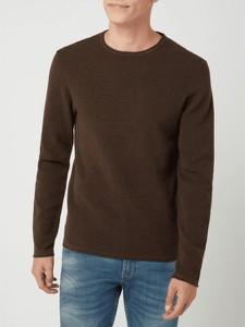 Brązowy sweter McNeal z bawełny
