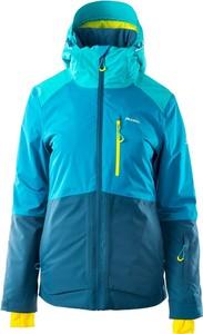 Niebieska kurtka Elbrus w sportowym stylu z kapturem narciarska