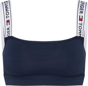 Granatowy biustonosz Tommy Hilfiger Underwear