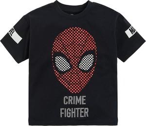 Czarna koszulka dziecięca Cool Club dla chłopców