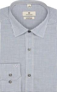 Szara koszula recman z długim rękawem