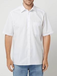 Koszula Eterna z klasycznym kołnierzykiem z bawełny