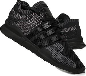 Czarne buty sportowe eoryginalne.pl sznurowane w sportowym stylu