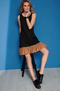 Sukienka Makadamia z bawełny bez rękawów
