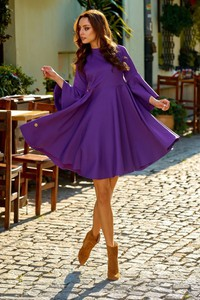 819804b7e7 sukienka rozkloszowana z koła - stylowo i modnie z Allani