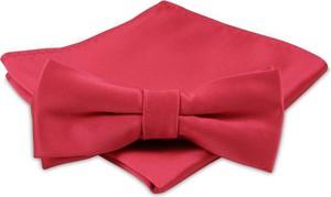 ac7029f6aa141e czerwona mucha do garnituru - stylowo i modnie z Allani