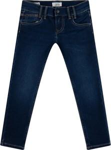Granatowe jeansy dziecięce Pepe Jeans