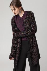 Czarny sweter Solar w stylu casual z dzianiny