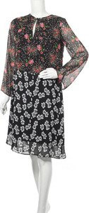 Sukienka Single Los Angeles z okrągłym dekoltem mini
