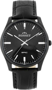 ZEGAREK MĘSKI BISSET BSCE55 (zb060b) - Czarny