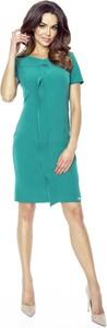Sukienka Bergamo mini z krótkim rękawem