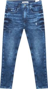 Granatowe spodnie dziecięce Calvin Klein dla chłopców