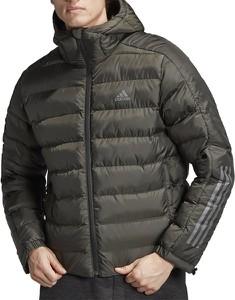 Brązowa kurtka Adidas z tkaniny