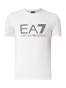 c63d48ae863ed3 T-shirt EA7 Emporio Armani z bawełny z krótkim rękawem
