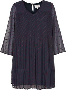 Sukienka Numph oversize z długim rękawem mini