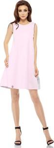 Różowa sukienka Lemoniade z bawełny