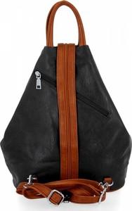 Czarny plecak Bee Bag ze skóry