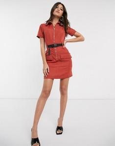 Czerwona sukienka Parisian