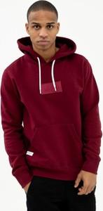 Czerwona bluza Elade z bawełny
