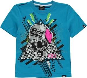 Błękitna koszulka dziecięca No Fear