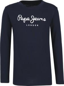 Bluzka dziecięca Pepe Jeans z długim rękawem z bawełny