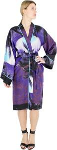 Fioletowy płaszcz P.A.R.O.S.H. w stylu casual