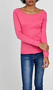 T-shirt Gate z długim rękawem w stylu casual z bawełny