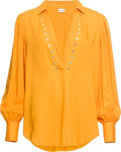 Bluzka bonprix BODYFLIRT z dekoltem w kształcie litery v