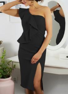 Sukienka Sandbella asymetryczna midi